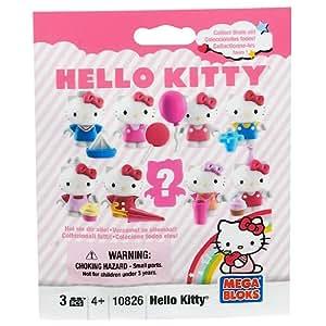 Hello Kitty Mega Bloks Toy - Mini Figure Series 1 Mystery Pack - Includes Building Block