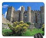 obidos castle pousada castle portugal Mouse Pad, Mousepad (Medieval Mouse Pad)