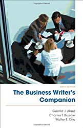 The Business Writer's Companion by Charles T. Brusaw (2010-12-22)