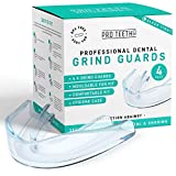 Professional Dental Grind Guards - Protects Against Teeth Grinding, Bruxism, TMJ & Snoring - BPA Free - Comfortable Fit - Easy to Mould - Hygiene Case Included - Made by Pro Teeth