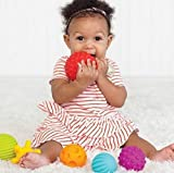 Hosaire 4 Pcs Baby Hand Catch Massage Sensory Ball with Sound Effect Soft Toys Best Choice for Kids-LOVELY DESIGN