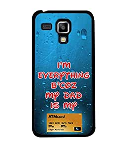 PrintVisa Atm Card High Gloss Designer Back Case Cover for Samsung Galaxy S Duos 2 S7582 :: Samsung Galaxy Trend Plus S7580