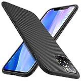 iBetter per iPhone 11 PRO Max Cover, Thin Fit Gomma Morbida Protettiva Cover, Protezione Durevole,per la iPhone 11 PRO Max 6.5'' Smartphone.(Nero)