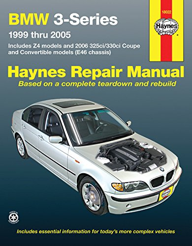 BMW 3-Series: 99-05 (Haynes Repair Manual (Paperback))