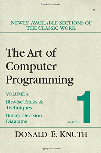 The Art of Computer Programming, Volume 4, Fascicle 1: Bitwise Tricks & Techniques; Binary Decision Diagrams
