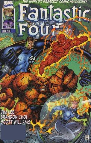 Fantastic Four-Heroes Reborn (Fantastic Four (Marvel Paperback)) by Jim Lee (1-Nov-2000) Paperback