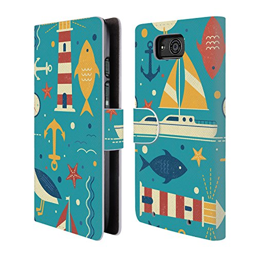 official-tracie-andrews-all-at-sea-patterns-2-leather-book-wallet-case-cover-for-motorola-droid-maxx