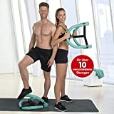VITALmaxx 07637 Multi-Trainingsgerät | Bauch, Beine, Po, Rücken, Arm, Brust | All in One