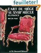 L'art du siège au XVIIIe siècle en France