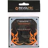 Revoltec Vibrationsaufnehmer für Gehäuselüfter - 120x120mm