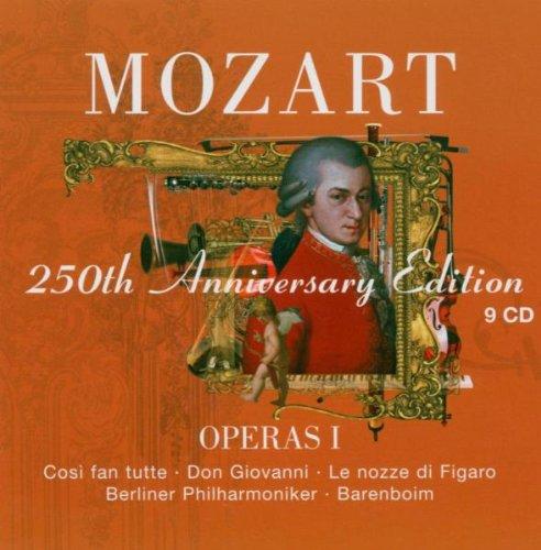 Mozart : Operas Vol 1 [Cosi fan tutte, Don Giovanni, Le nozze di Figaro]