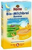 Holle Latte Bio pappa Banana, confezione da 3(3x 250g)
