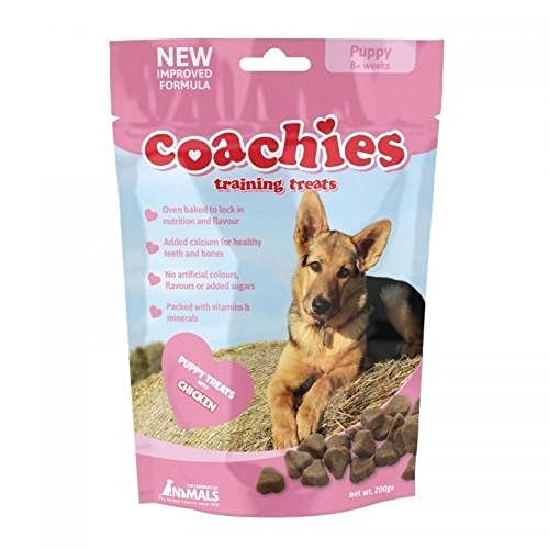 BULK BUY – 8 packs Coachies Puppy Training Treats (Pack Size: 200g Packet) – Great for dog training classes