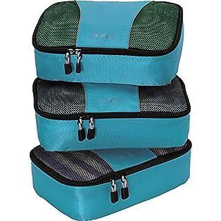 eBags Small Packing Cubes - 3pc Set (Aquamarine)