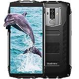 Telephone Portable Incassable, Blackview BV6800 Pro (Ecran: 5.7 Pouces FHD+, 6580mAh Batterie, 64Go ROM, Android 8.0, Cameras 16MP+13MP+8MP) IP69K Smartphone Etanche/Telephone Antichoc, Noir