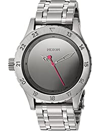 Nixon Women's '38-20' Quartz Stainless Steel Casual Watch, Color: Silver-Toned (Model: A4102633-00)