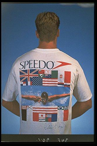 348023 Performance T Shirts By Speedo A4 Photo Poster Print 10x8 (Speedo-performance)