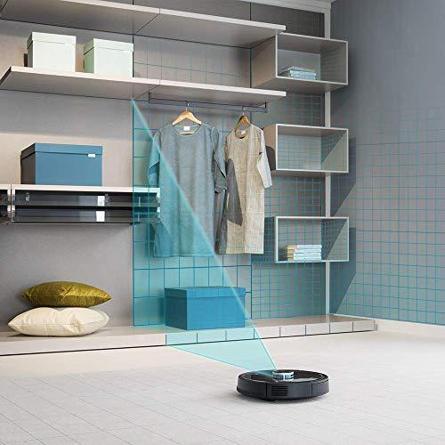 Cecotec Conga 4090 - Robot aspirador, gestión y edición de habitaciones, aspira, barre, friega y pasa la mopa, cepillo para mascotas, Alexa y Google Home