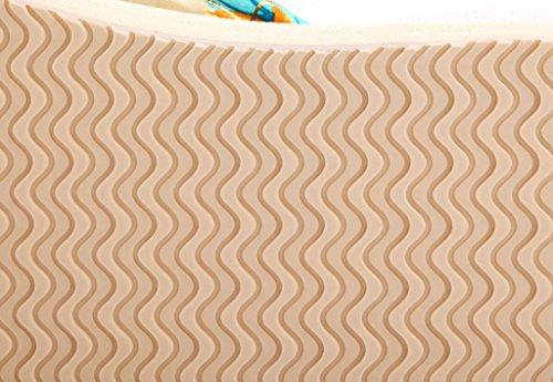 SOGXBUO - Scarpe con plateau donna Beige