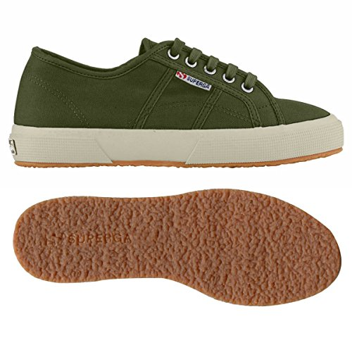 Superga 2750- Plus Cobinu, Baskets Basses femme MILITARY