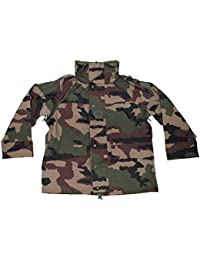 French Army Genuine Issue Waterproof Gore-TEX CCE Camouflage Rain Jacket