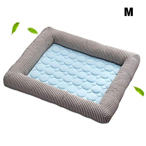 Haustier Katze Eis Pad Cool Cool Pad Sommer Cool Pad Kalt Seide Kennel Pad Automatische Cool Pad Sommer Kühl Pad Silk Kennel Pad