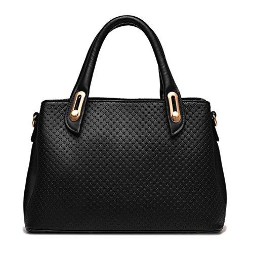 Myleas Donna Borsa a Tracolla Borsetta Shopper Borse con Cinturino Rosa
