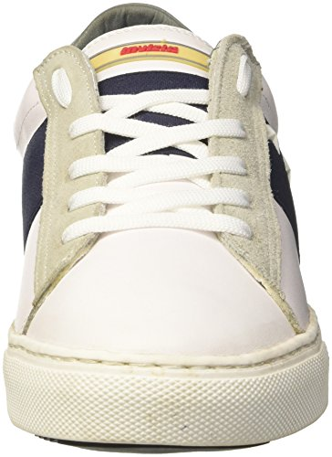 Invicta Unisex-Erwachsene striscia Laterale Low-Top Blu (Blu Scuro)