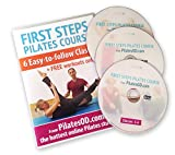 First Steps Pilates Course - 3 DVD Boxset