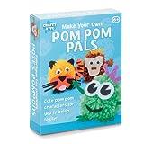 Tobar stellen eigene Pom Pom 3 Zeichen in einem Kumpels eingestellt Handwerk Kit neue Kinder ab 6 Jahren