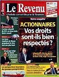 Telecharger Livres REVENU FRANCAIS LE N 621 du 18 05 2001 ACTIONNAIRES VOS DROITS SONT ILS BIEN RESPECTES G RAMEIX BNP PARIBAS MICHEL PEBEREAU RENAULT NISSAN SOLVAY ALOIS MICHIELSEN LES PERSPECTIVES BOURSIERES DES GROUPES PARAPETROLIERS J M BAYLE (PDF,EPUB,MOBI) gratuits en Francaise
