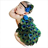 Best Baby Shower Gifts For Girls - Babymoon Baby Peacock Designer Tiara & Butt Cover Review