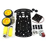 #4: Two Wheel Drive - 2WD Acrylic Robot Chassis Set for Arduino, Raspberry Pi, NodeMCU