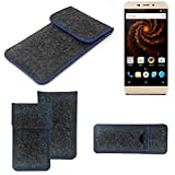 K-S-Trade® Protective Felt Case For Allview X4 Soul Mini