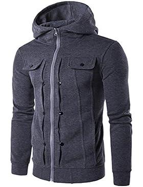 OverDose chaqueta masculina sudaderas con capucha (calidad y tamaño mejorados)