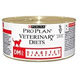 PRO PLAN VETERINARY DIETS Feline DM Diabetes Management Cat Food 195g - Case of 24 (4.68kg)