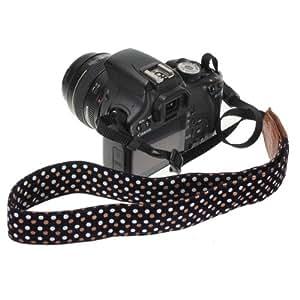 FamilyMall Vintage Spotted DSLR SLR Camera Shoulder Neck Strap Belt for Canon EOS Nikon Pentax Sony