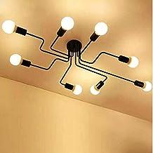 Amazon.es: lamparas de techo para comedor - SUN RUN