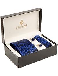 Cazzano Floral Print Men's Tie Set (TCPNC226)