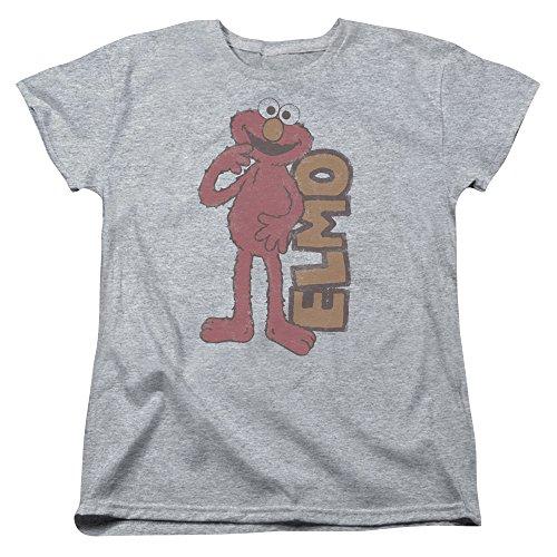 Sesame Street Damen T-Shirt Athletic Heather