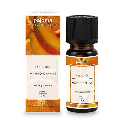 pajoma Parfümöl ''Mango-Orange'', 10 ml, feinste Parfümöle in Geschenkverpackung (Mango-duft)