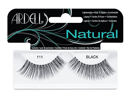 Ardell Fashion Wimpern (Ardell Fashion Lashes 111, das Original, black, 4er Pack)