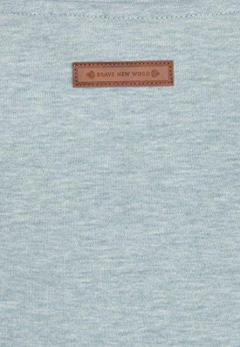 Naketano - Sweat-shirt - Uni - Femme Wiederkäuer Grün Melange