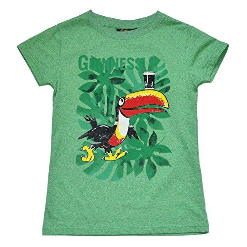 Damen T-Shirt Tukan (S) (Tropische T-shirts Damen)