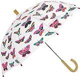 Hatley Mädchen Regenschirm Printed Umbrella White (Lovely Daisies), One Size