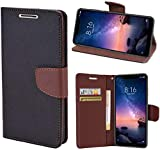 Wurzel Flip Cover for 10. Or D2, Luxury Look Wallet Stand Flip Cover