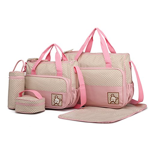 Miss Lulu - Juego 5 bolsas cambiar pañales