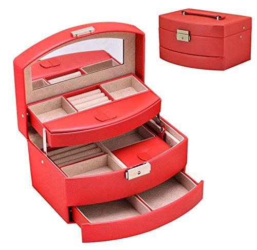dhjust-european-style-joyero-caja-de-almacenamiento-cosmeticos-regalo-de-cumpleanosperla-roja