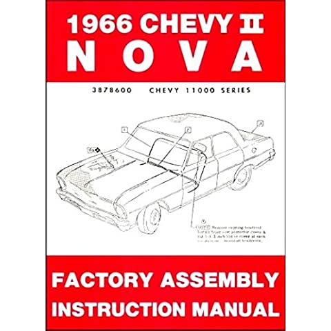 1966 Chevy II Nova Factory Assembly Manual (with Decal)
