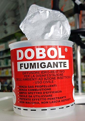 N7 X Fumigante Dobol 20g Insetticida Antitarlo Tarlo Del Legno